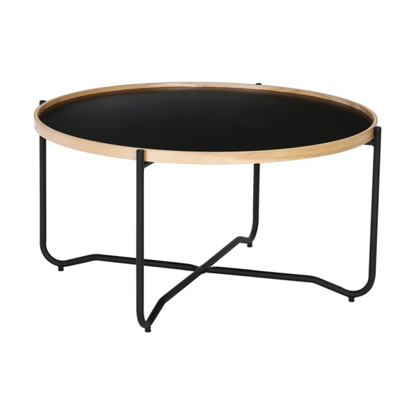 nestnordic-132010-tanix-coffee-table-802-matt-black-epoxy112-oak-veneer162-black-size-dia-815-x-41-cm